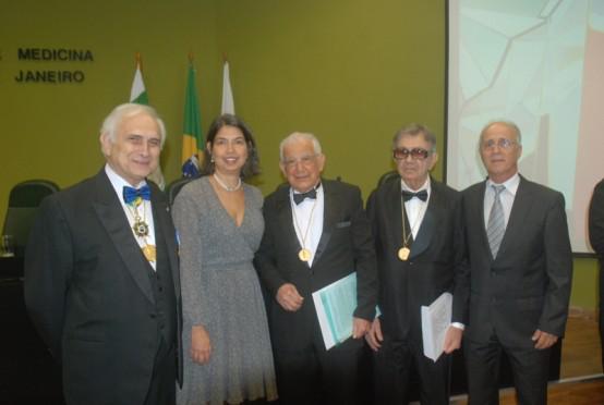 Stans Murad Netto foi eleito Membro Honorário da AMRJ