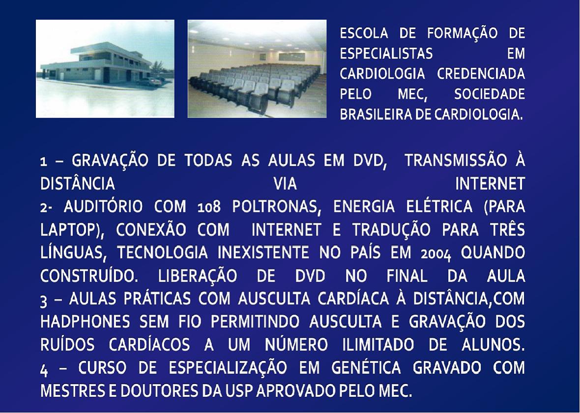 5 - CURSO DE FORMAÇÃO DE ECOCARDIOGRAFIA, ERGOMETRIA TEÓRICO E PRÁTICO. LER MAIS
